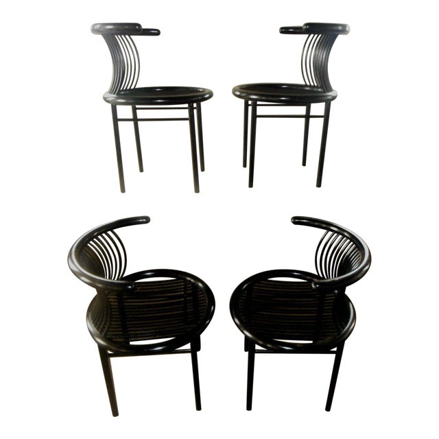 Mid-Century Modern Helmut Lubke & Co. Dining Chairs - Set of 4 For Sale