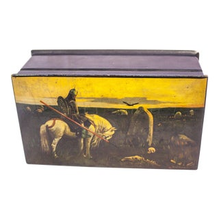 Vintage Russian Lacquered Box