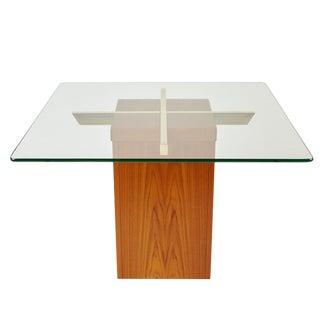 Trioh of Denmark Large Teak Side Table Scandinavian Modern For Sale
