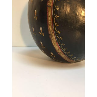 Anglo Raj Mid Century Hand-Hammered Black Hand-Painted Jug Preview