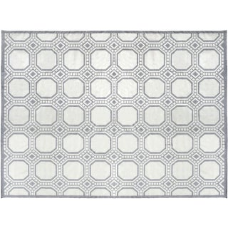 Stark Studio Rugs Contemporary Cotton Dhurries 100% Cotton Rug - 8′1″ × 9′11″ For Sale