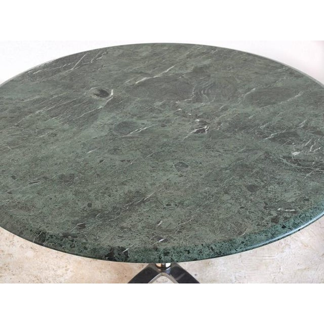 Nicos Zographos Nicos Zographos Table with Marble Top For Sale - Image 4 of 8