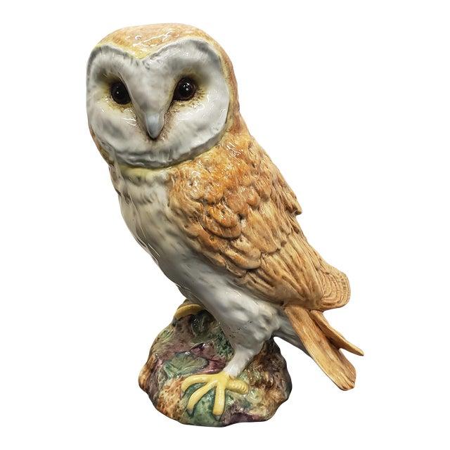 Circa 1960 English Beswick Pottery Barn Owl Figurine (#1046 For Sale