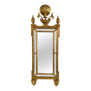 19th Century French Empire Mirror For Sale