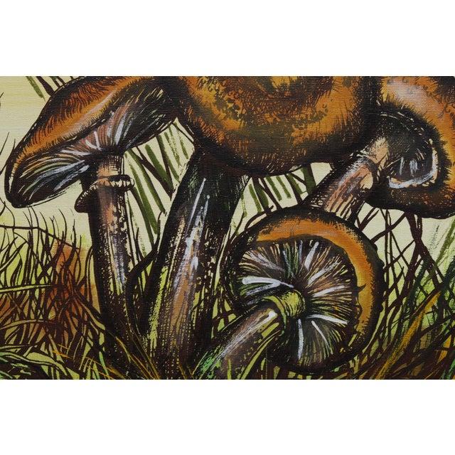 J. Walker Mushrooms Painting For Sale - Image 5 of 7