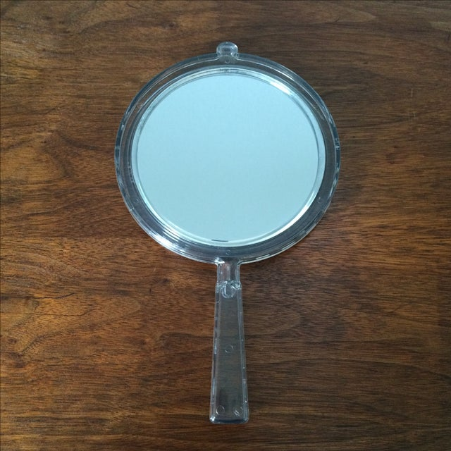Vintage 2-Sided Hand Mirror - Image 8 of 11