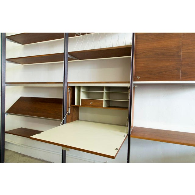 Brown George Nelson for Herman Miller CSS Wall Unit For Sale - Image 8 of 9