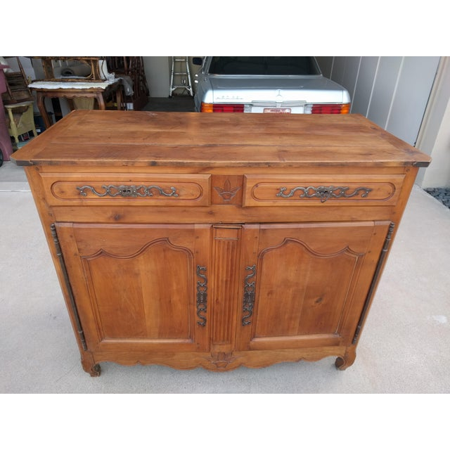 Late 18th Century Louis XVI Cherry Credenza - Image 13 of 13