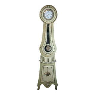 19th Century Antique Scandinavian Louis XVI Style Clock For Sale
