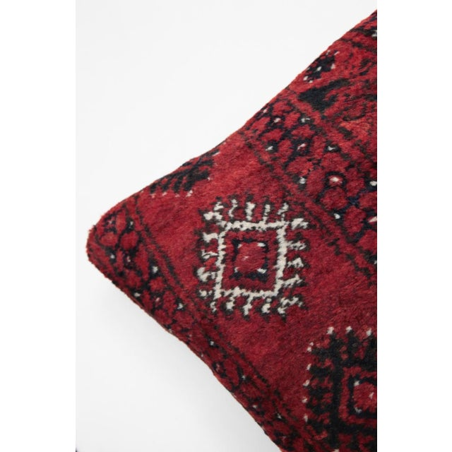 Turkish Decorative Rug Pillow Cover - Image 6 of 8