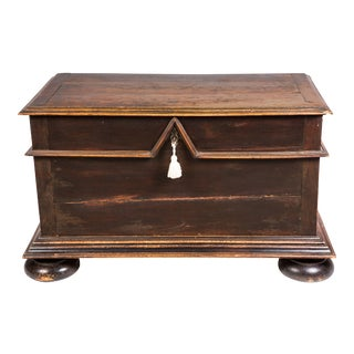 Blanket Trunk, Chest, 19th Century Belgium For Sale