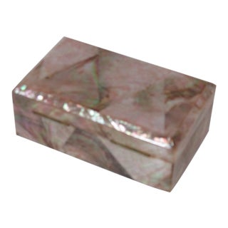 Art Deco Mother of Pearl Box For Sale