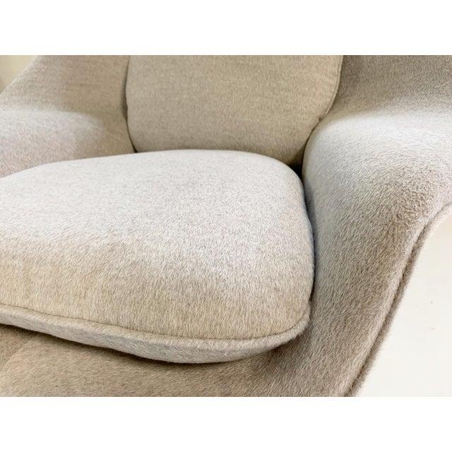 Eero Saarinen Womb Chair in Loro Piana Alpaca Wool For Sale - Image 12 of 13