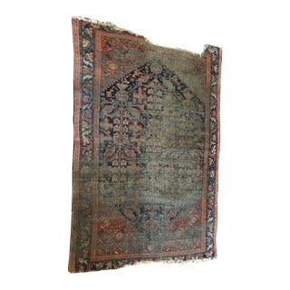 Late 19th Century Antique Persian Heriz Rug- 4′1″ × 6′1″ For Sale