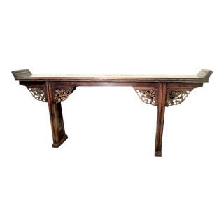 Authentic Antique Altar Table For Sale