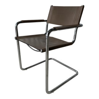 1970s Vintage Mart Stam for MatteoGrassi Mg5 Chair For Sale