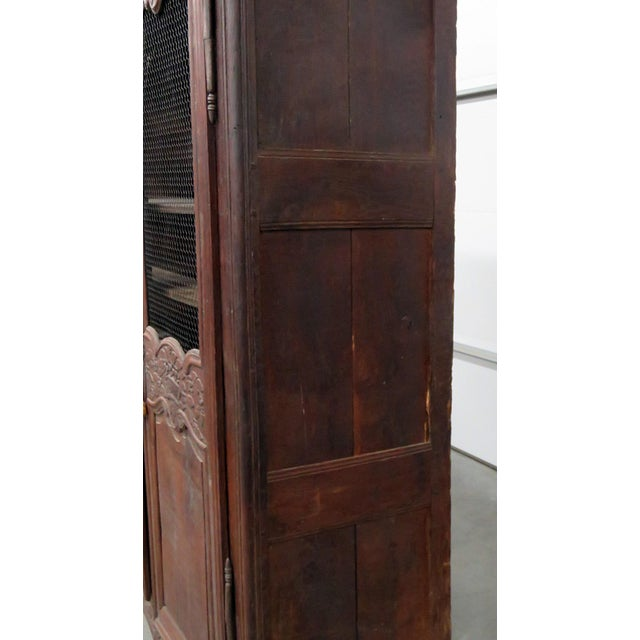 Wood 18th C. French Provincial Armoire For Sale - Image 7 of 11
