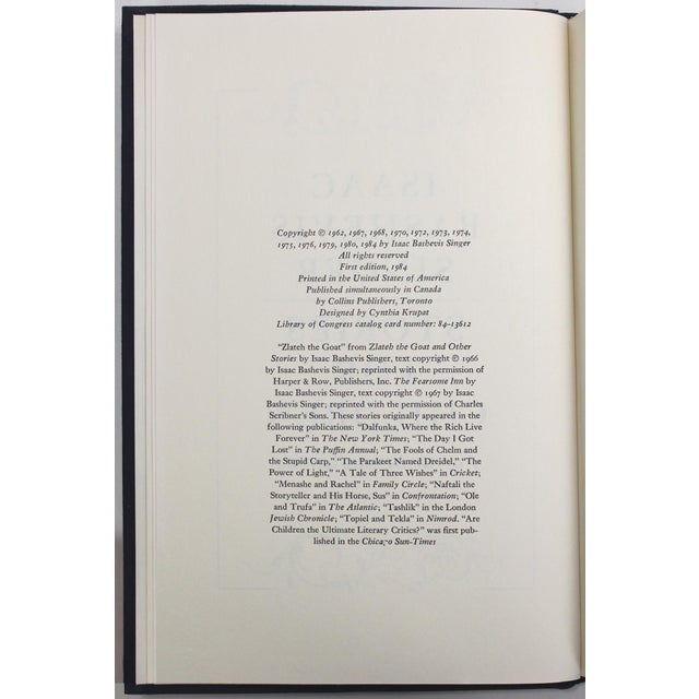 Stories for Children, 1st Edition Book by Isaac Bashevis Singer - Image 7 of 8