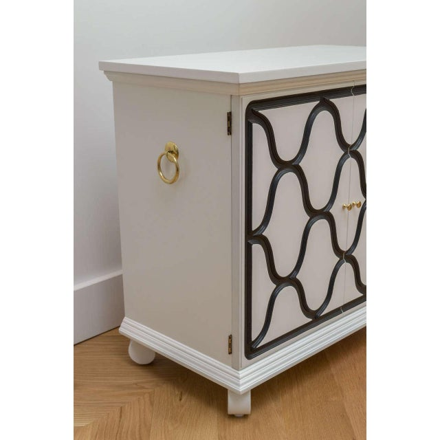 Dorothy Draper Two-Door Cabinet For Sale - Image 5 of 8