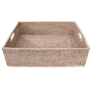 "Artifacts Rattan Rectangular Basket 20""x16""x6"" Preview"