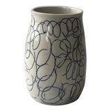 Image of Cobalt Loop the Loop Vase For Sale