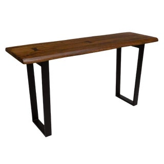 Industrial Home Trends and Designs Wood Console Table For Sale