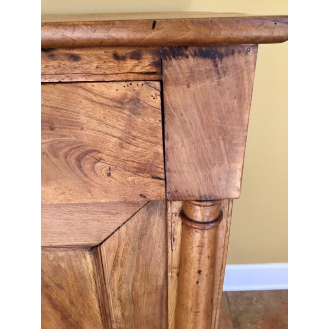 19th Century French Country Cherry Cabinet For Sale - Image 6 of 13