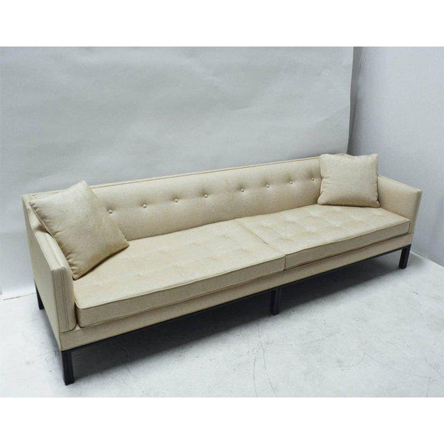 Midcentury Dunbar Sofa by Edward Wormley For Sale - Image 9 of 10