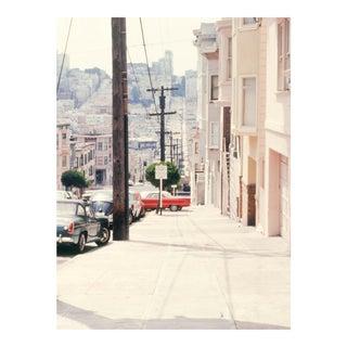 Vintage 1960s San Francisco Lombard Street II Photograph Print