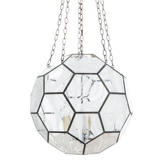 """Clate Grunden Honeycomb Pendant 30"""" For Sale"""