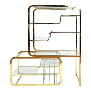 Milo Baughman for d.i.a Etagere For Sale
