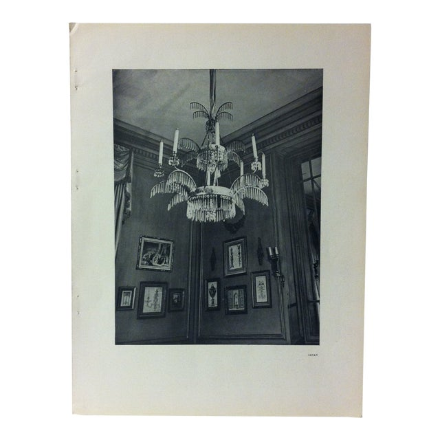 """1946 """"Chandelier"""" Art Et Style French Print For Sale"""