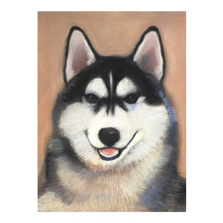 """Nikita"" Siberian Husky Painting For Sale"