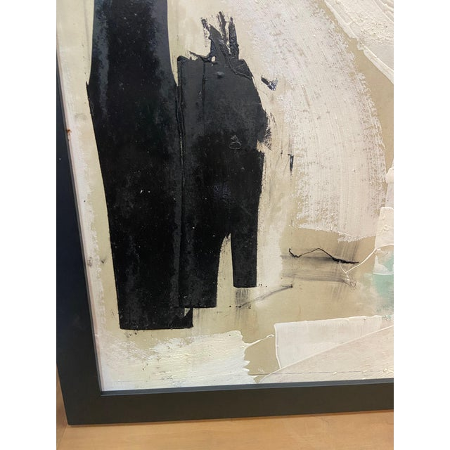 White 1969 Graham Harmon Oil Painting For Sale - Image 8 of 10