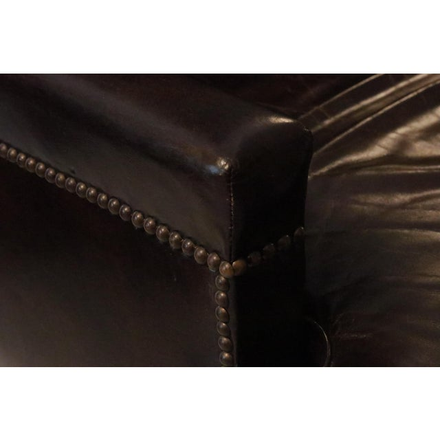 Executive Leather Desk Chair by Baker Furniture For Sale In Tampa - Image 6 of 9