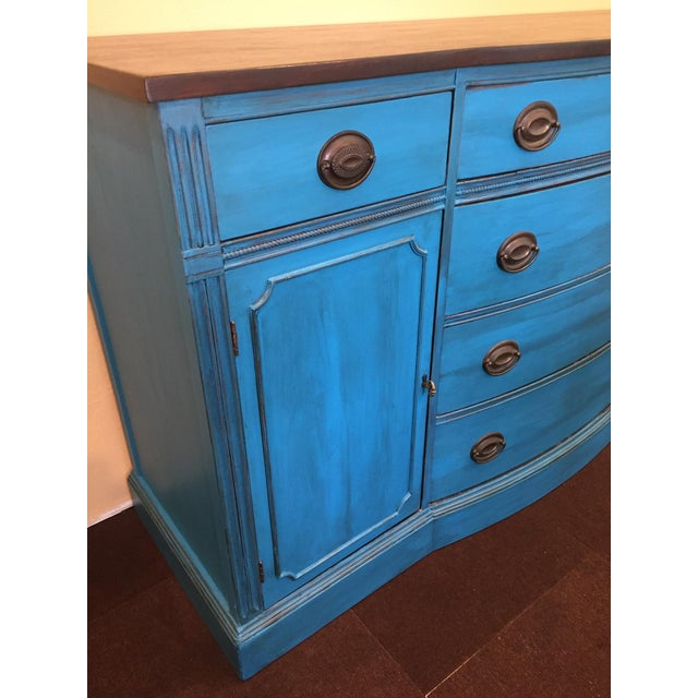 1940s Corinth Blue Credenza - Image 4 of 10