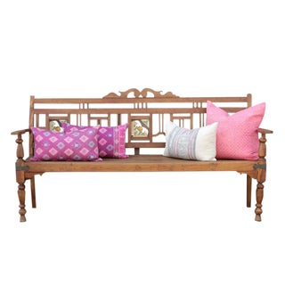 British Farmhouse Bench For Sale