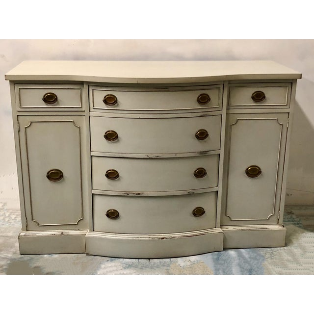 1950s Hand Painted Sideboard by Brickwede Bros. - Image 7 of 7