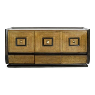 Italian Three-Door Credenza, Circa 1940s For Sale