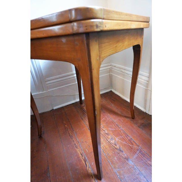 19th Century French Walnut Game Table For Sale In New Orleans - Image 6 of 9