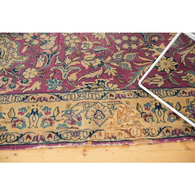 """Blue Vintage Lilihan Carpet - 6'2"""" X 9'6"""" For Sale - Image 8 of 12"""