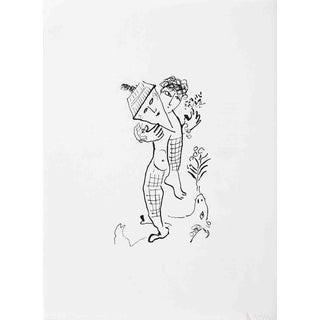 Marc Chagall Derriere Le Miroir, No. 235 Cover-1979 Lithograph