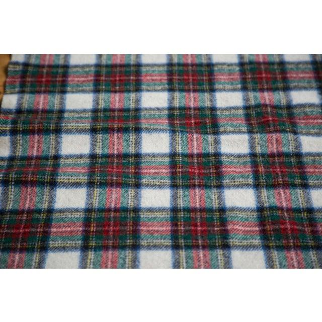 Vintage Plaid Blanket - Image 5 of 6