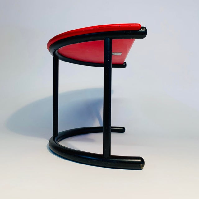 Gianfranco Frattini Demilune Side Table For Sale - Image 9 of 13