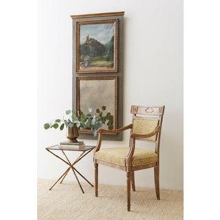 French Louis XVI Style Parcel Gilt Trumeau Mirror Preview