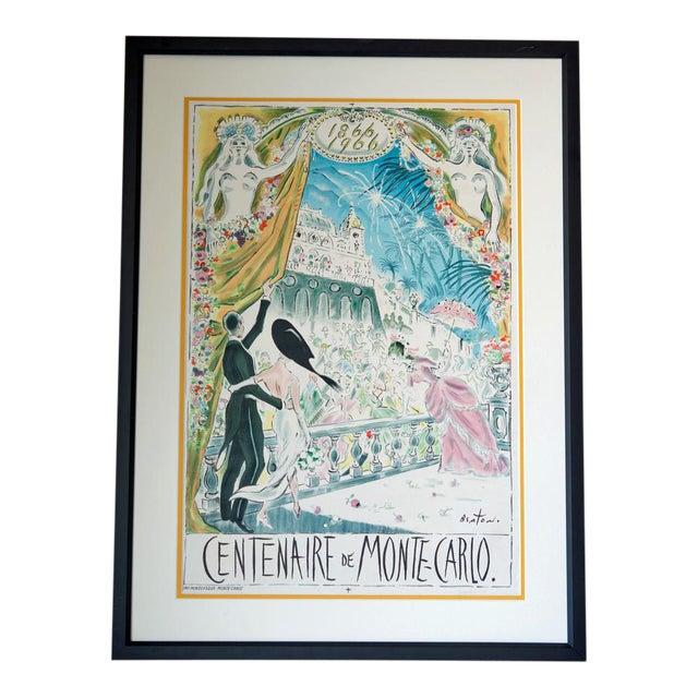 Cecil Beaton 'Centenaire De Monte Carlo' Lithograph - Image 1 of 8