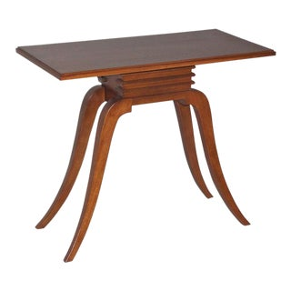 1940s Paul Frankl for Brown Saltman Mahogany Console For Sale