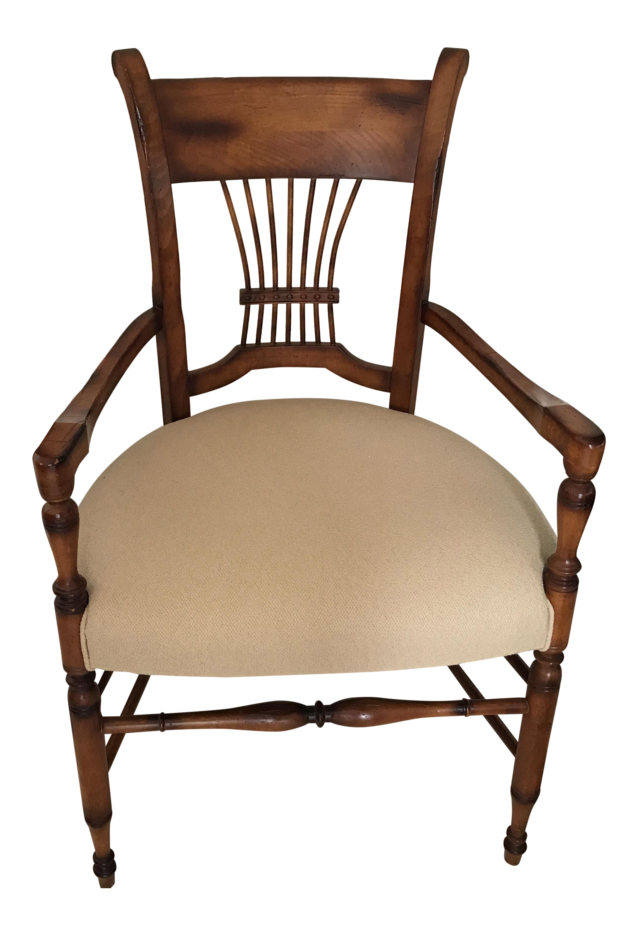 Superieur Baker Milling Road Spindle Chair   Image 1 Of 7