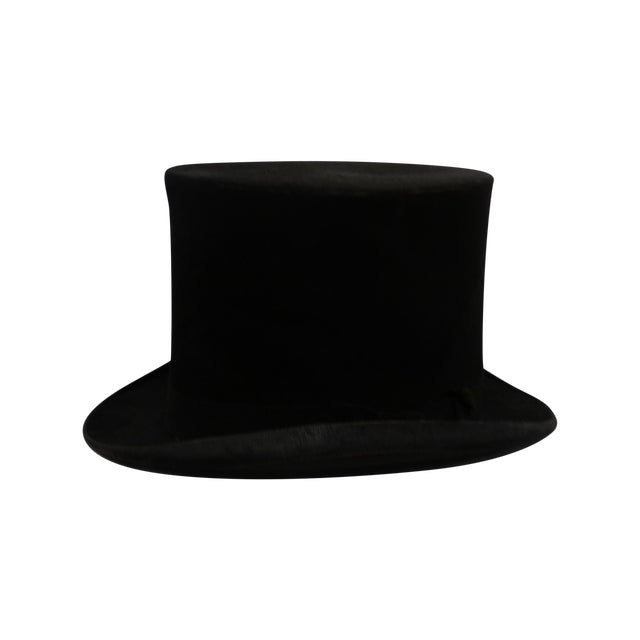 1900s Beaver Top Hat - Image 1 of 4