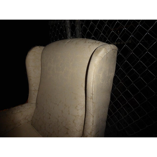 Vintage French Country Wingback Chair - Image 10 of 11